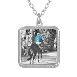 Ollysilverexpress & Joe Mazza Silver Plated Necklace