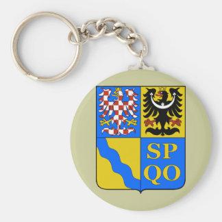 Olomouc Region, Czech Keychain