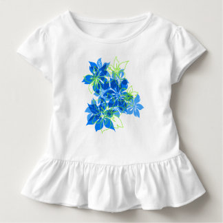 Olowalu Hibiscus Hawaiian Camo Tropical Toddler T-shirt