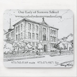 OLS School Sketch Mouse Pad