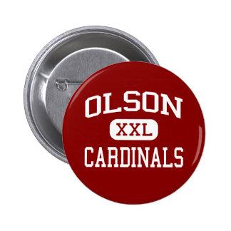 Olson - cardinaux - milieu - Woodstock l Illinois Badges