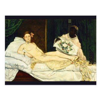 Olympia by Edouard Manet Postcard