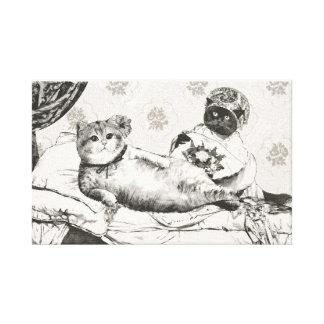 Olympia Canvas Print
