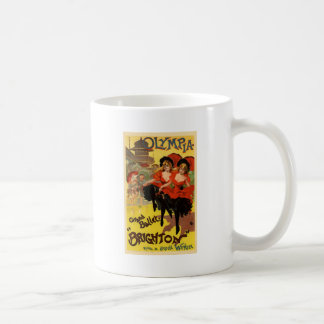 Olympia Grand Ballet Brighton Basic White Mug