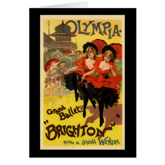 Olympia Grand Ballet Brighton Greeting Card