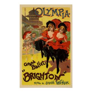 Olympia Grand Ballet Brighton Posters