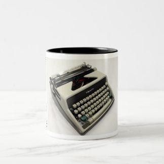 Olympia SM7 typewriter Two-Tone Coffee Mug
