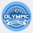 Olympic Cobalt Classic Round Sticker