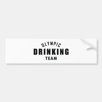 Olympic Drinking Team Bumper Sticker