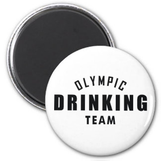 Olympic Drinking Team Magnet