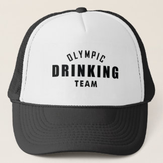 Olympic Drinking Team Trucker Hat