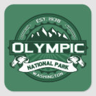 Olympic Forest Square Sticker