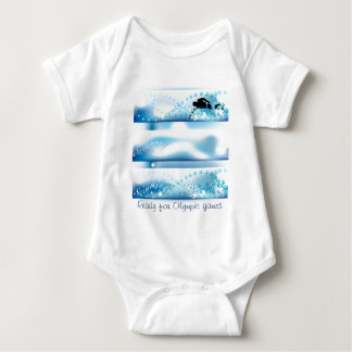 Olympic games item baby bodysuit
