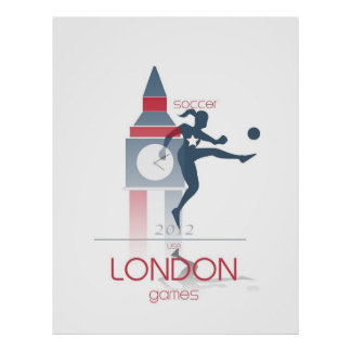 Olympic Games: Soccer Poster