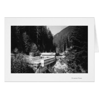 Olympic Hot Springs, WA Lodge View Photograph #2 Card