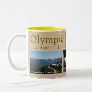 Olympic N.P. Collage Two-Tone Coffee Mug