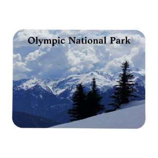 "Olympic National Park 3""x4"" Magnet"