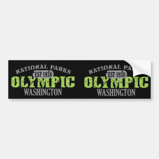 Olympic National Park Bumper Sticker