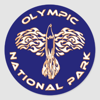 Olympic National Park Classic Round Sticker