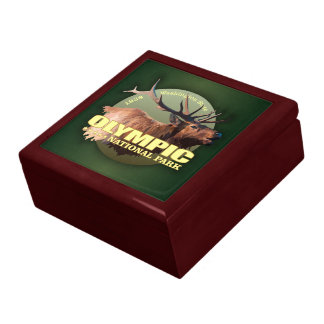 Olympic National Park (Elk) WT Jewelry Boxes