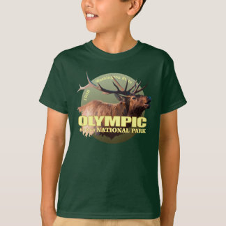 Olympic National Park (Elk) WT T-Shirt