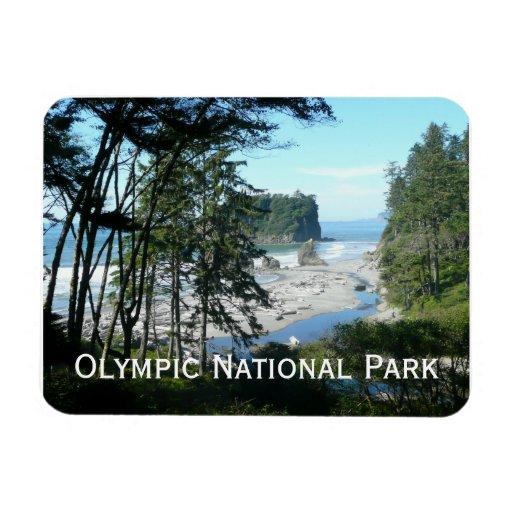 Olympic National Park Magnet Rectangular Magnet