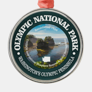 Olympic National Park Metal Ornament