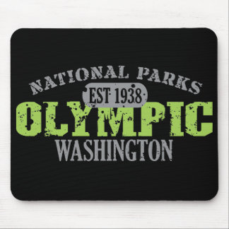 Olympic National Park Mouse Pad