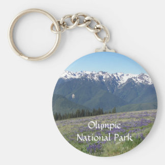Olympic National Park Photo Keychain