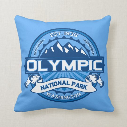 Olympic National Park Pillow