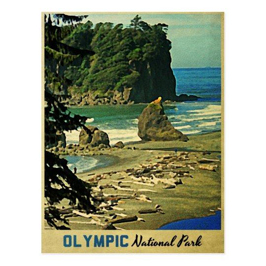 Olympic National Park Postcard