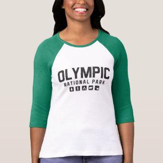 Olympic National Park women's raglan shirt