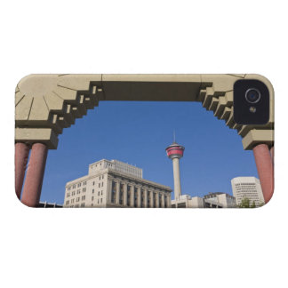 Olympic Plaza and Calgary Tower, Alberta, Canada Case-Mate iPhone 4 Cases