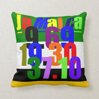 Olympic Records Throw Pillow