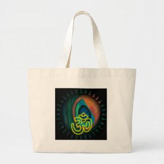 Om 3 large tote bag