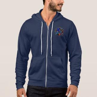 Om American Apparel Zip Hooded Sweatshirt
