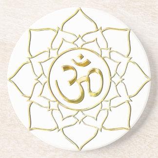 OM AUM ॐ Lotus Coaster