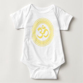 Om Baby Suit Baby Bodysuit