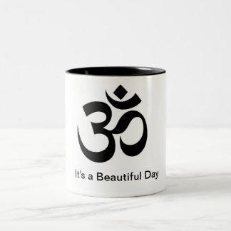 Om Beautiful Day Mug