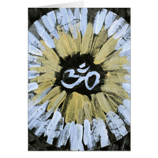 OM Blank Note Card To Your Own Higher Self Be True