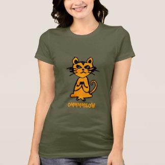 Om Cat - Funny Yoga T-Shirt for Women