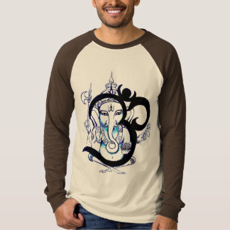 Om Ganesha Long Sleeve Shirt