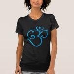 Om-ganpati-turqoise T Shirts