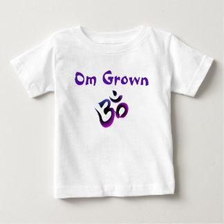Om Grown Dark Purple Baby Tee