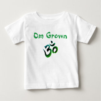 Om Grown Green Baby Tee