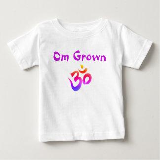 Om Grown Purple Baby Tee