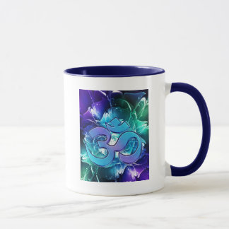 Om I See Blues and Greens Mug