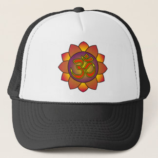 Om_in_anahatta_(gradients) Trucker Hat