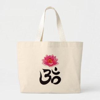 OM Lotus 2 Jumbo Tote Bag
