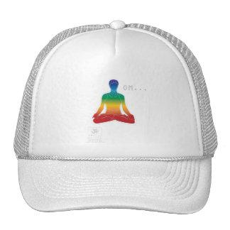 OM Lotus Chakras Cap Trucker Hat